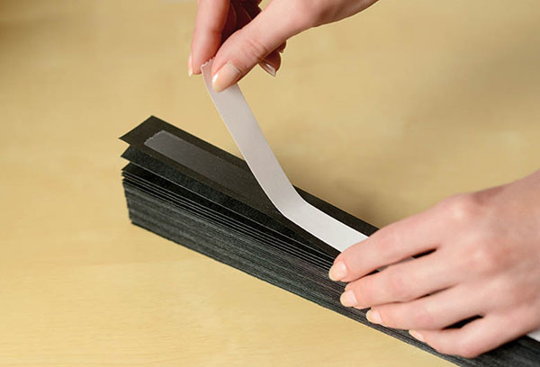 Крепление-липучка для бумажных жалюзи