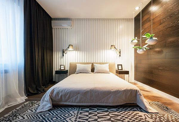 Скандинавский минимализм в интерьере спальни