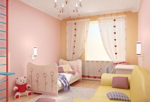 Как выбрать шторы в детскую комнату для девочек?