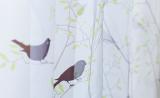 Тюль с птичками