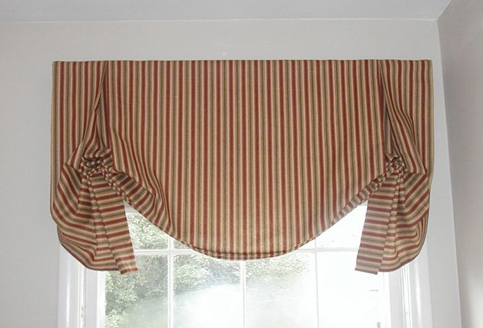 Конструкция английской шторы