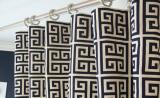 Греческий узор на шторах