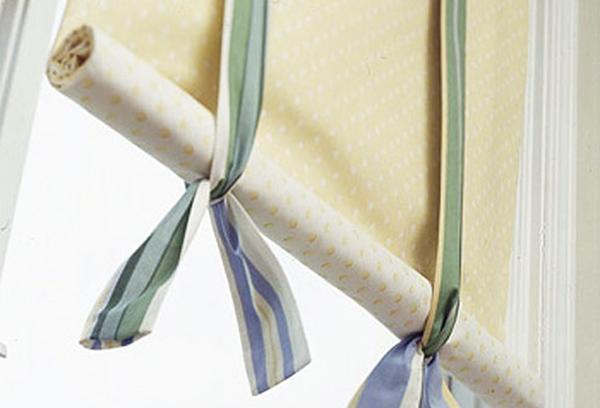 Римская штора на кухню своими руками