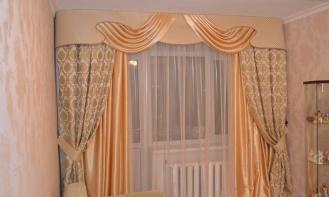 Выбор штор для зала: чем украсить окна главной комнаты в доме