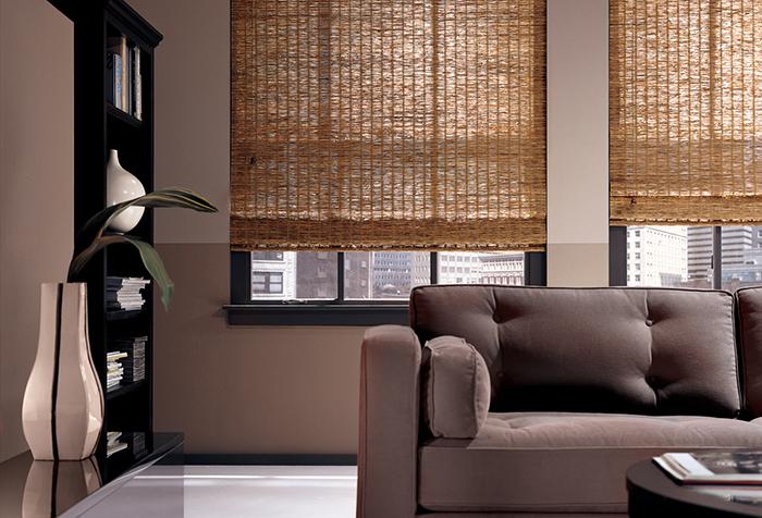 Бамбуковые занавески в современном интерьере