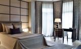 Спальня в серый тонах