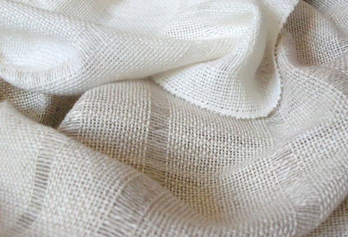 Льняная ткань высокого качества