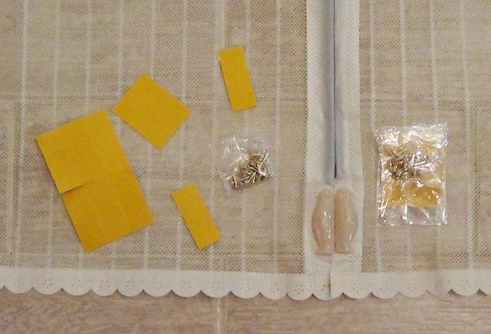 Комплектующие антимоскитной шторы