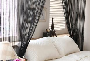 Выбираем шторы-нити для разных интерьеров