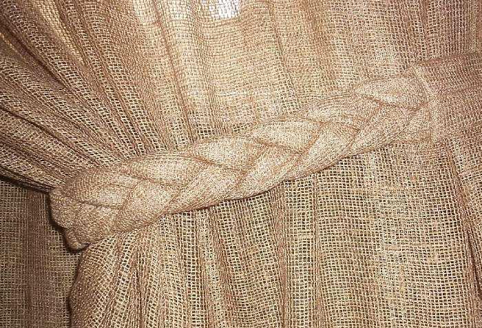 Подвязка для шторы «коса»