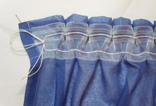Как пришить шторную ленту и получить красивую драпировку?
