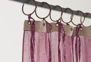 Выбираем шторы для зала из легкой вуали