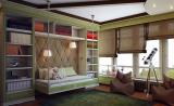 Римские шторы в комнате для подростка