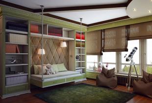 Особенности подбора штор при декорировании детской комнаты для мальчика