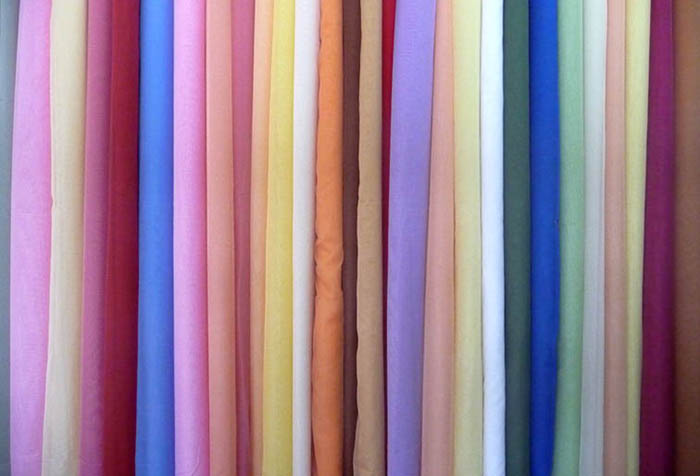 Ассортимент тканей для штор