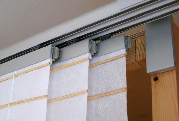 Конструкция японских штор