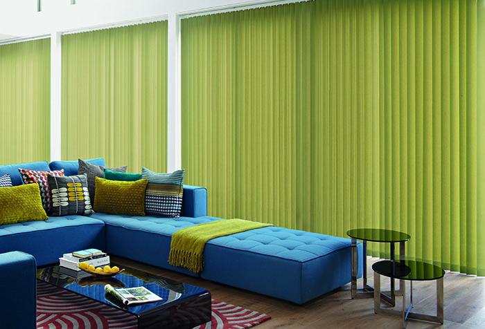 Сочетание синего и зеленого в интерьере
