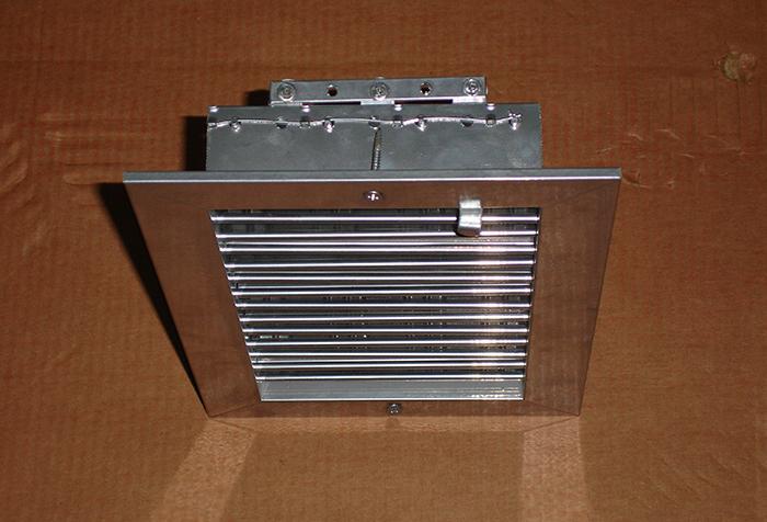Вентиляционная решетка с регулируемыми ламелями