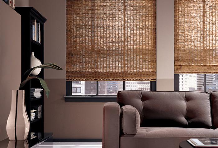 Бамбуковые шторы в современном интерьере