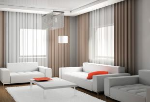 Какими могут быть шторы в дизайне интерьеров?