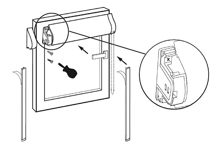 Конструкция кассетной шторы