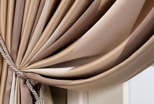 Как создать элегантный и стильный дизайн с коричневыми шторами?