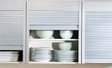 Встроенные жалюзи для кухонной мебели