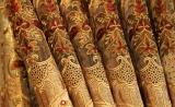 Роскошная портьерная ткань