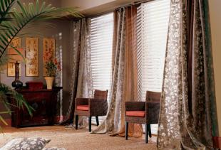 Какими должны быть портьерные шторы: виды, типы, фасоны и цвета
