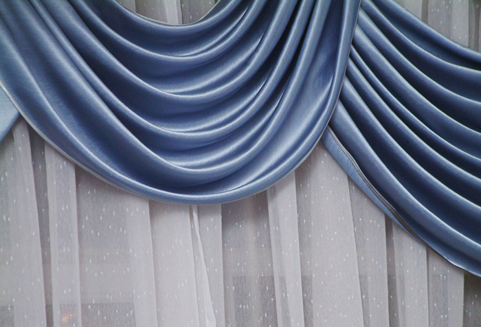 Разные материалы для штор