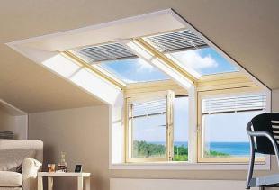 Какими шторами оформить мансардные окна?