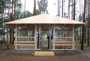 Мягкие окна – прозрачные шторы из ПВХ для беседок и веранд