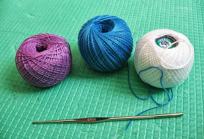 Материалы для вязания шторы крючком