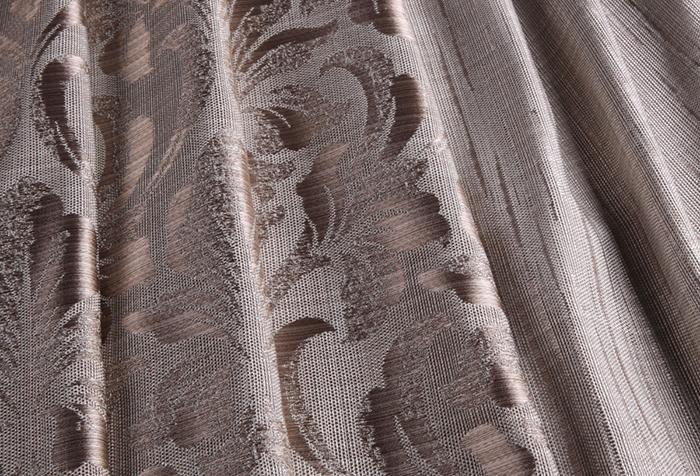 Современная портьерная ткань с узором