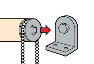 Как правильно установить рулонные шторы?