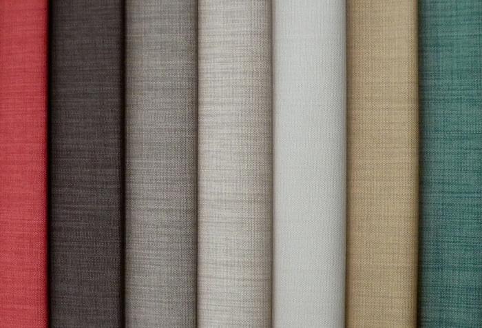 Выбор ткани для жалюзи