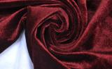 Шторная ткань бордового цвета