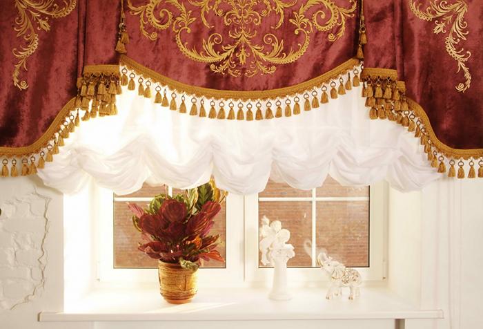 Элитная модель шторы