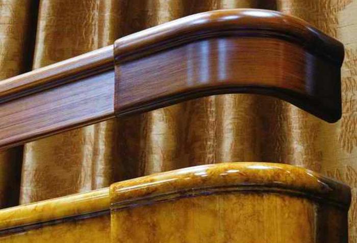 Деревянные багеты для штор