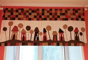 Какие шторы для дачи сшить своими руками?
