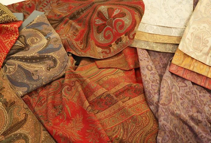 Восточные ткани для штор