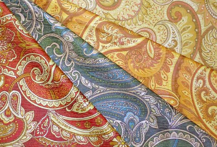 Индийские ткани для штор