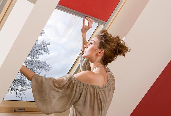 Рулонная штора с пружинным механизмом