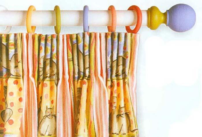 Самодельный карниз из пластиковой трубы