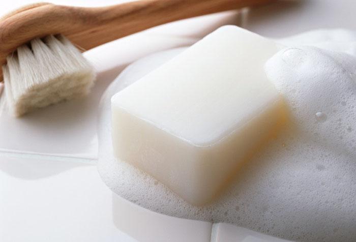 Мыло и щетка