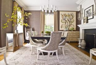 Виды классических штор и их роль в интерьере гостиной