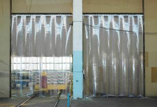 Промышленные шторы и занавеси для склада