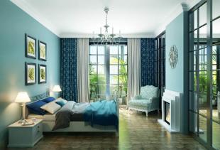 Изысканные сочетания: какие шторы подойдут к бирюзовым обоям?