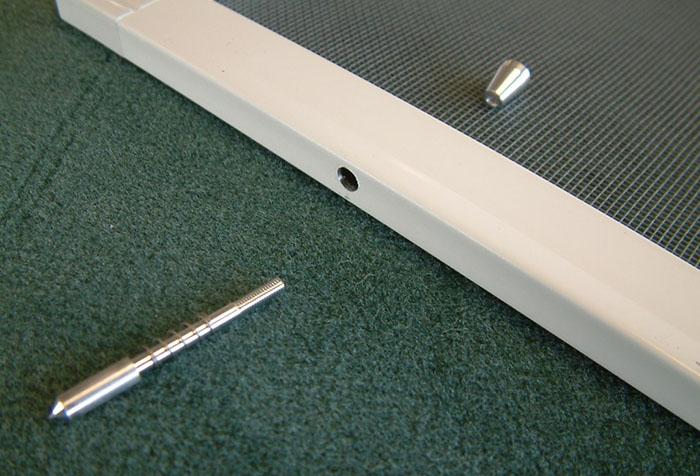 Плунжерный штифт для москитной сетки