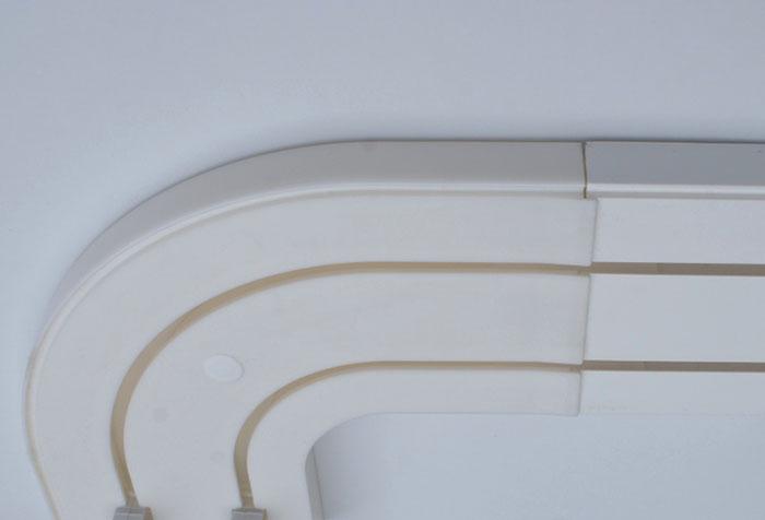 Поворотный модуль шинного карниза